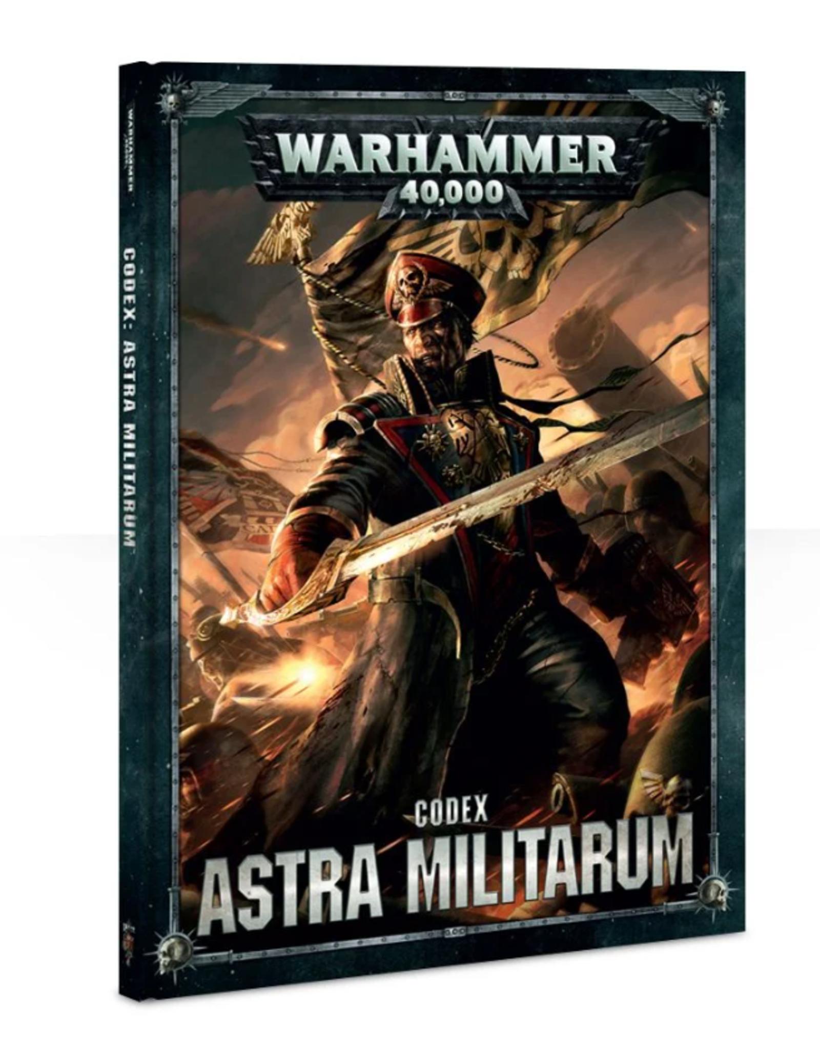 Games Workshop CODEX: ASTRA MILITARUM (HB)