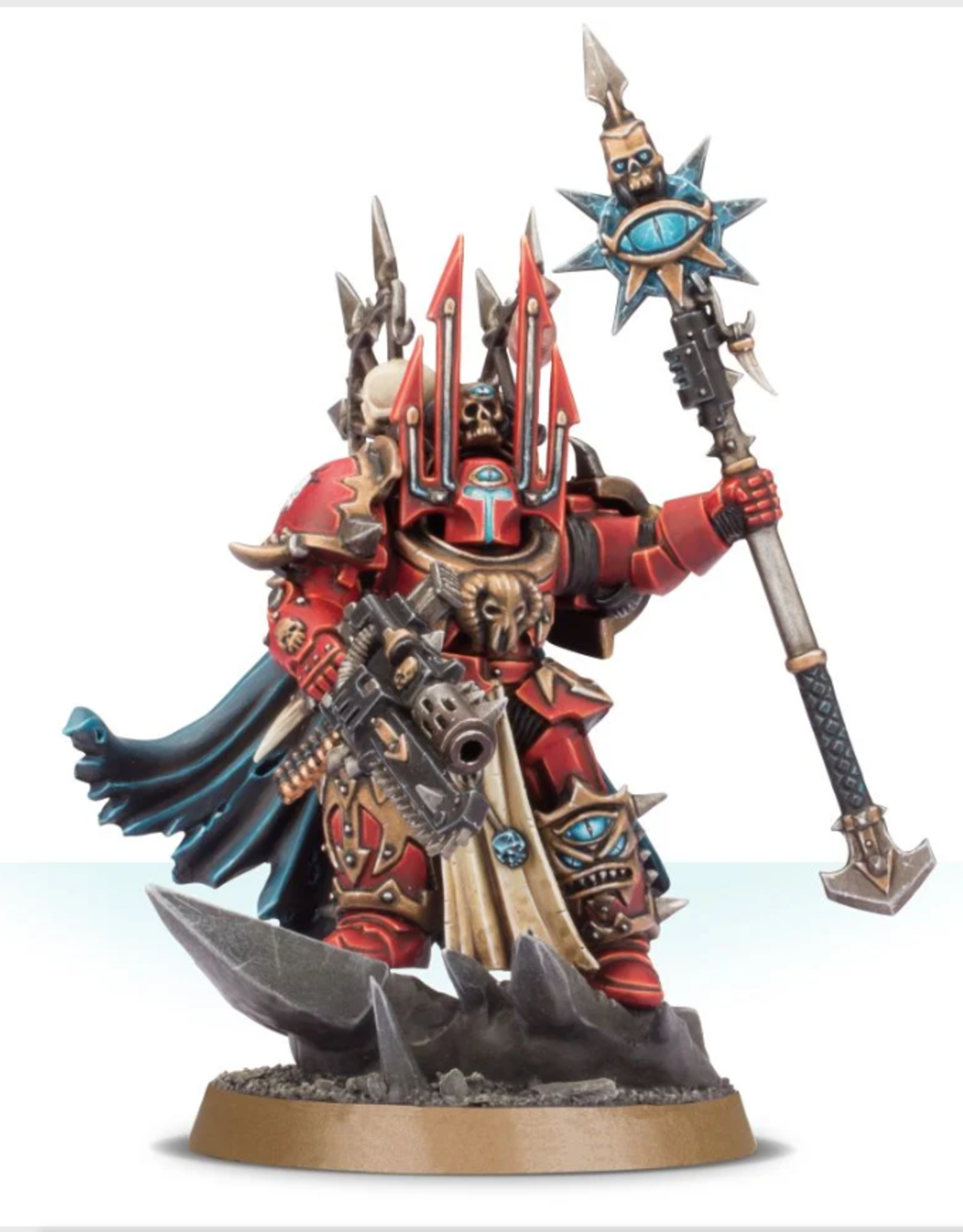 Games Workshop Chaos Lord in Terminator Armor