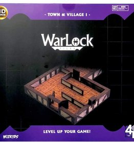 WizKids WarLock Tiles: Town & Village Base [Preorder]