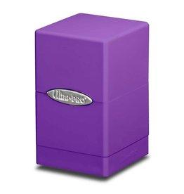 Ultra Pro Satin Tower Deck Box: Purple