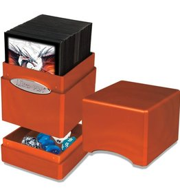 Ultra Pro Satin Tower Deck Box: Pumpkin