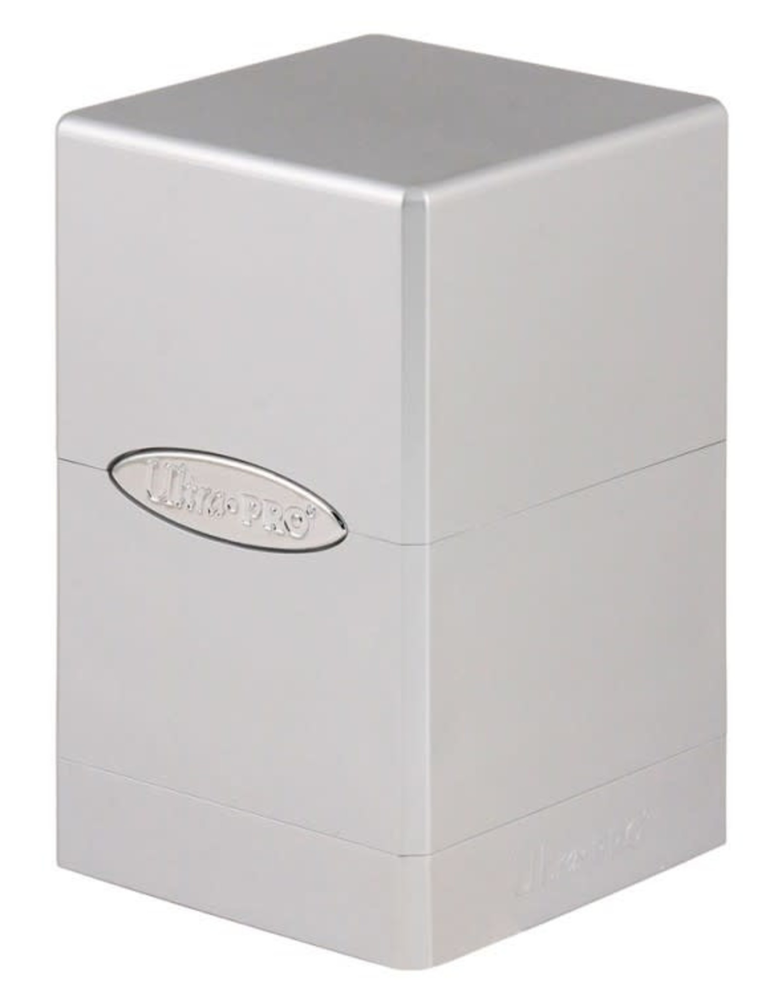 Ultra Pro Satin Tower Deck Box: Metallic Silver
