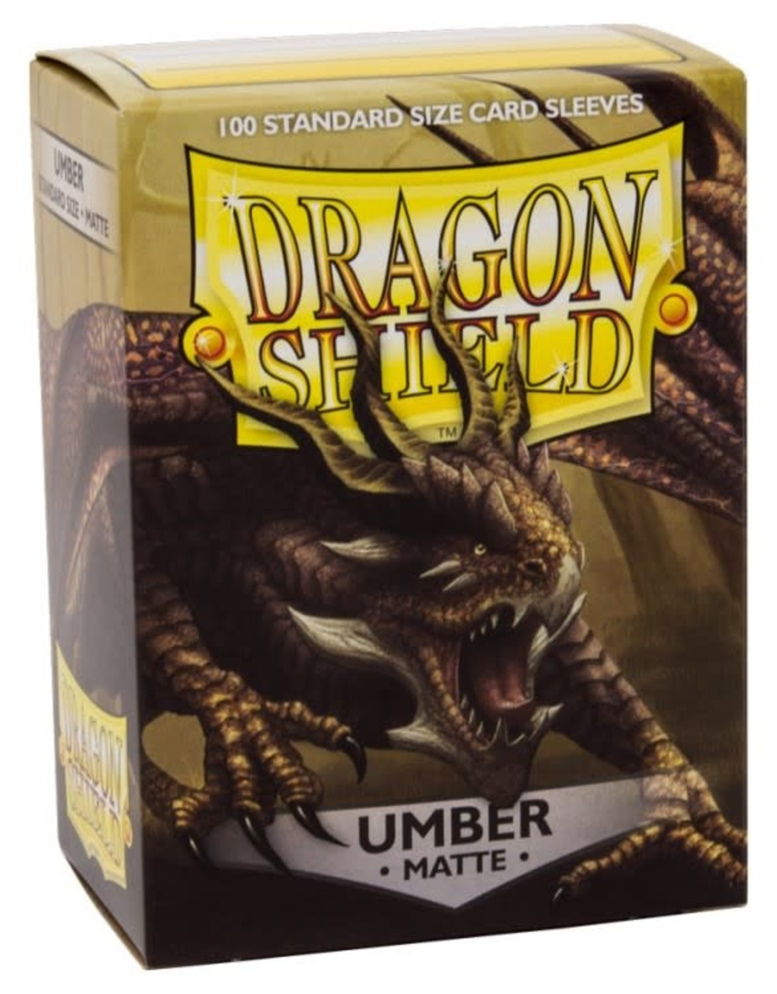 Arcane Tinmen Dragon Shield Matte Umber (100)