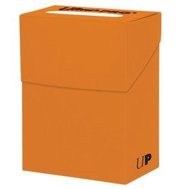 Ultra Pro Deck Box: Solid Pumpkin Orange