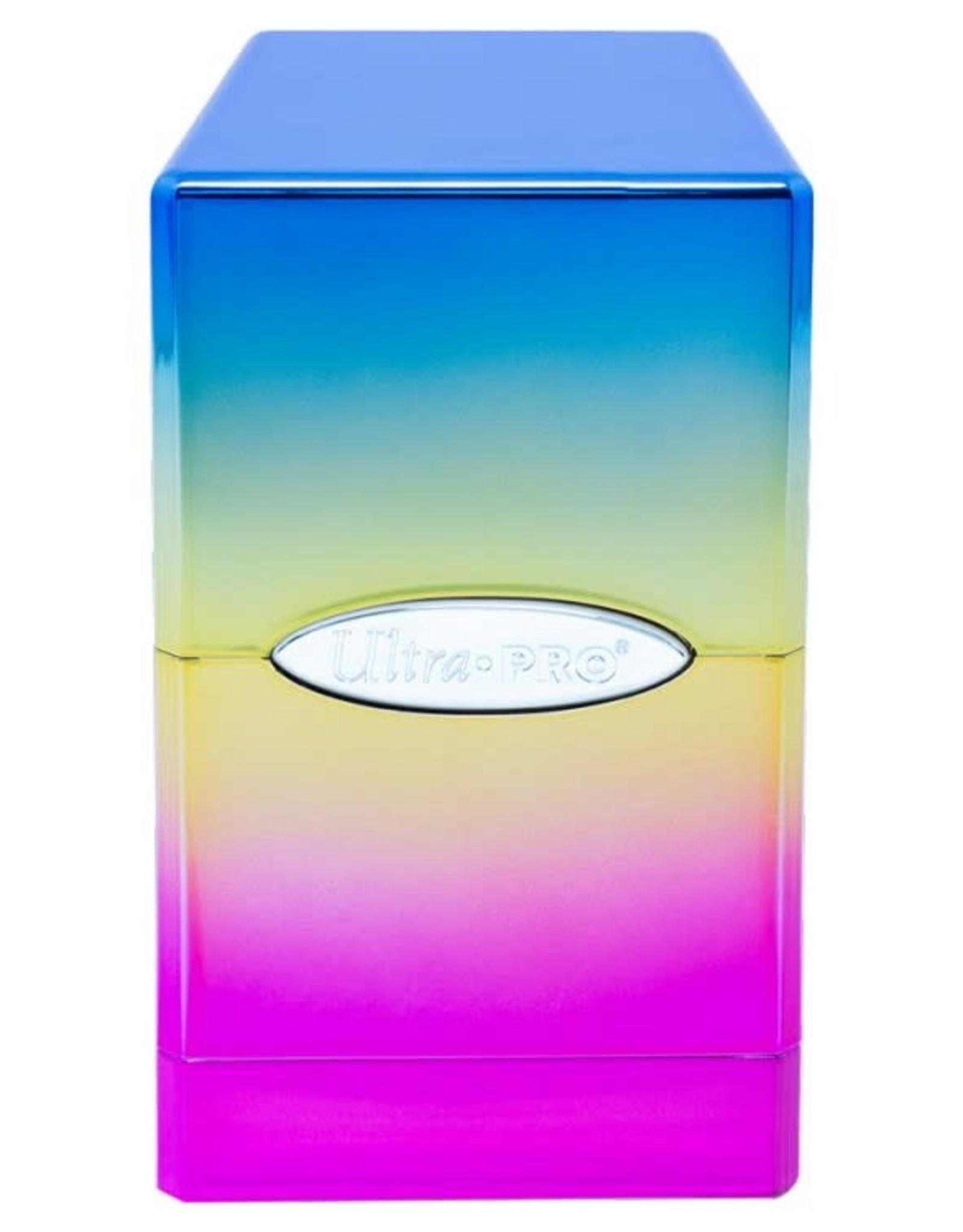 Ultra Pro Satin Tower Deck Box: Hi-Gloss Rainbow