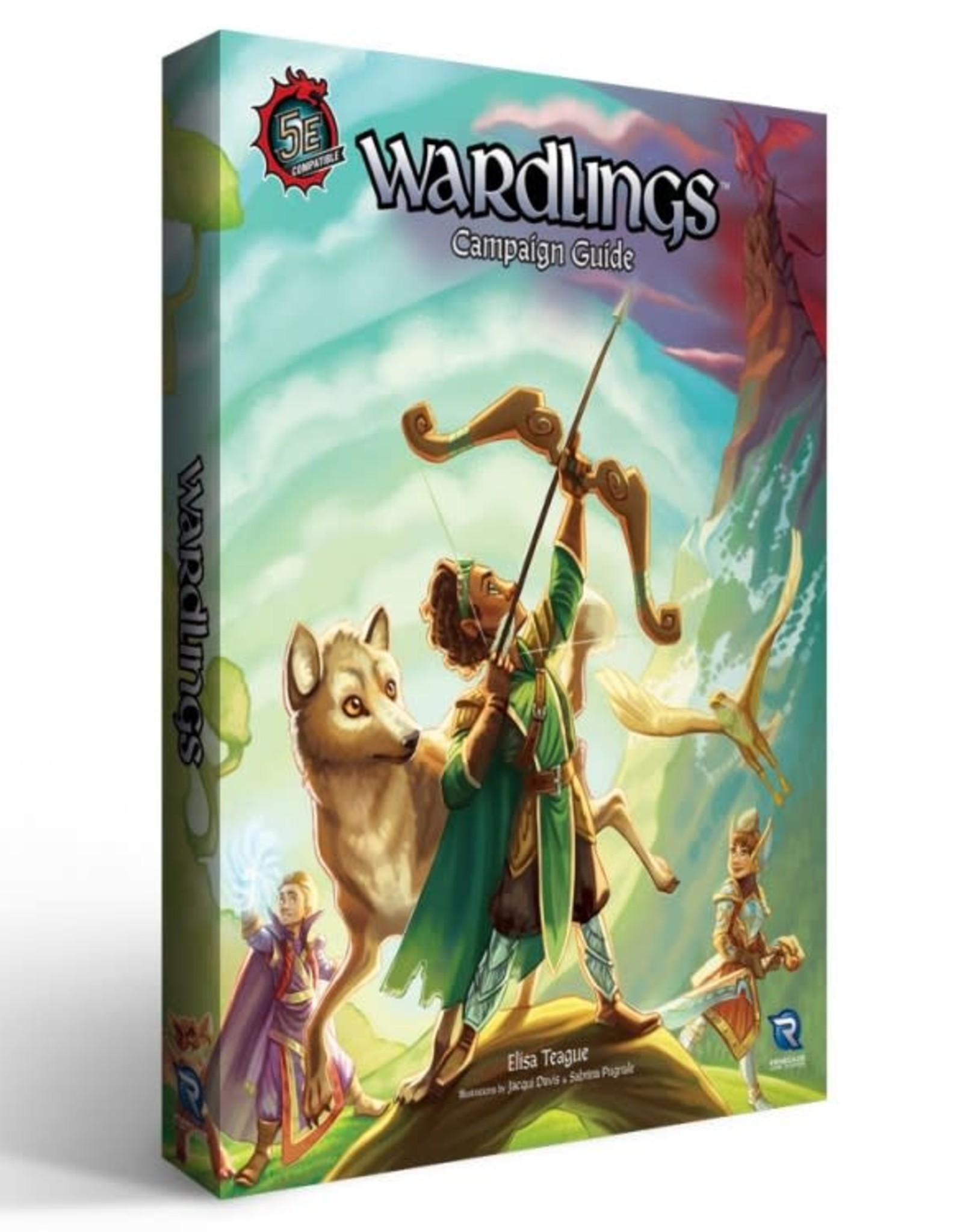Renegade Game Studios Wardlings Campiagn Guide 5E Compatible