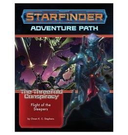PAIZO Starfinder: The Threefold Conspiracy Adventure Path: Flight of the Sleepers