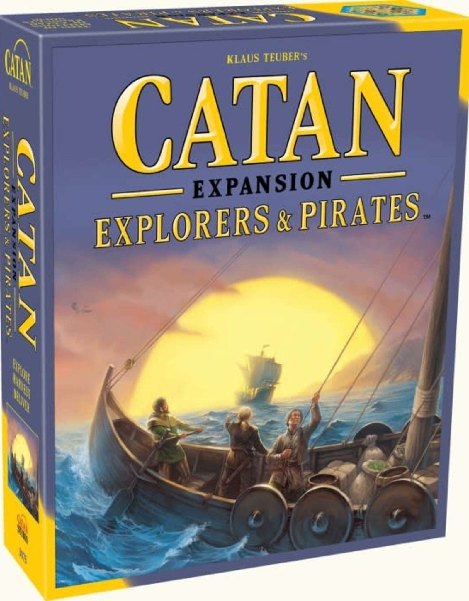 Catan Studios Catan Explorers & Pirates