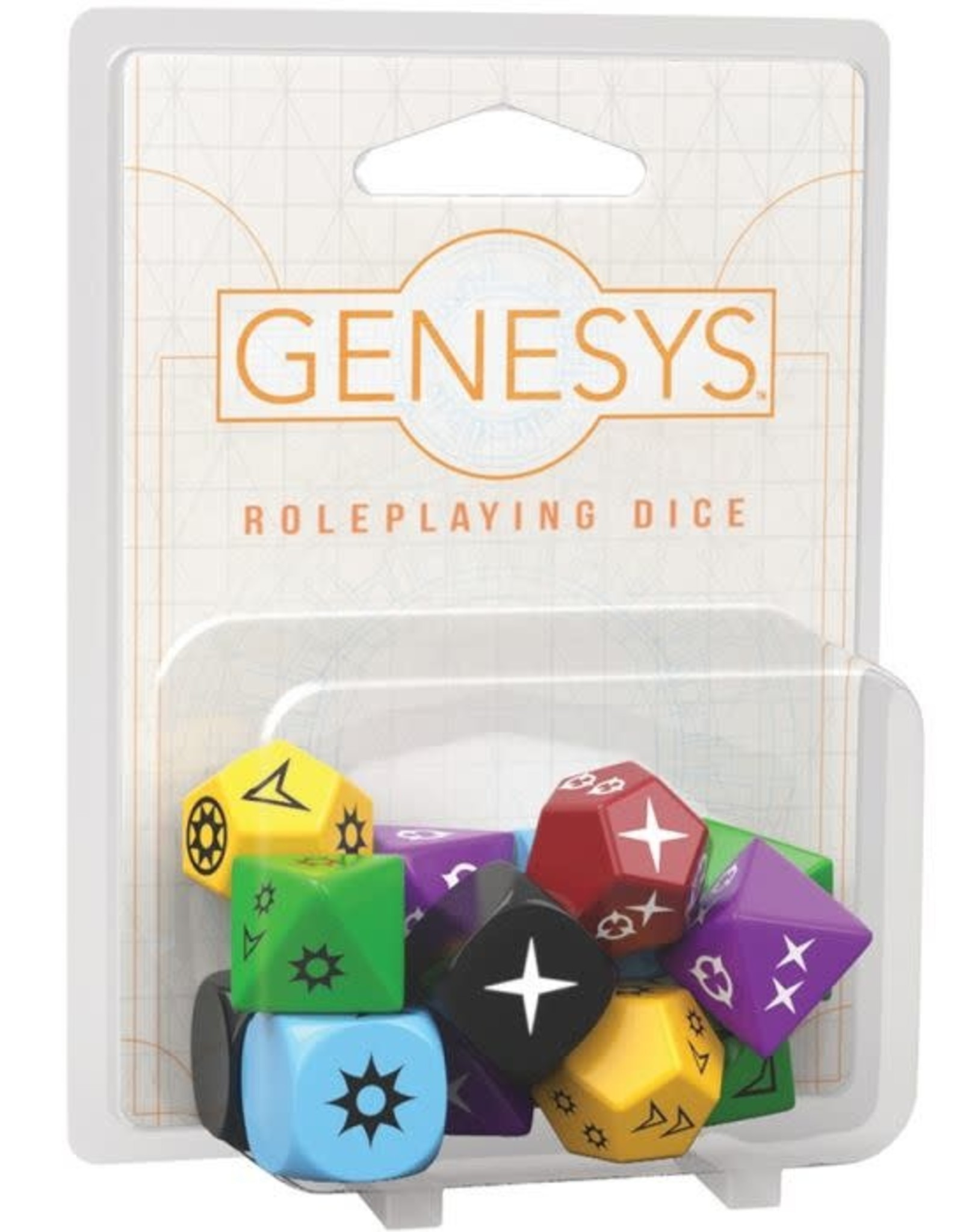 Fantasy Flight Games Genesys Roleplaying Dice Pack