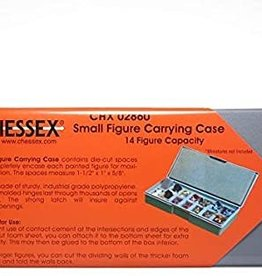 Chessex Figure Carrying Case: 14 Figures 25mm Small