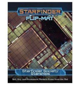 PAIZO Starfinder Flip-Mat: Society Starships