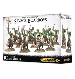 Games Workshop BONESPLITTERZ SAVAGE BOARBOYS