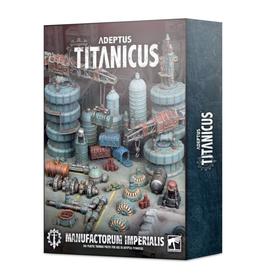 Games Workshop AD/TITANICUS: MANUFACTORUM IMPERIALIS