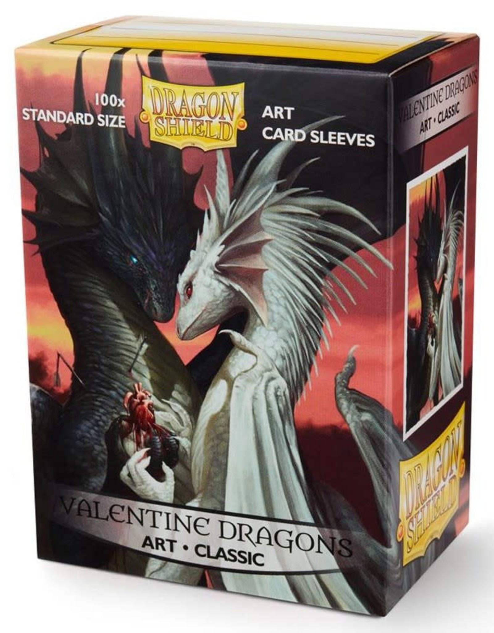 Arcane Tinmen Dragon Shield Art: Valentine Dragons 2019 (100)