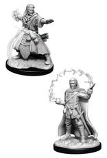 WizKids D&D Nolzur Human Wizard  (He/Him/They/Them)(W11)