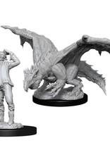 WizKids D&D Nolzur Green Dragon Wyrmling and Afflicted Elf