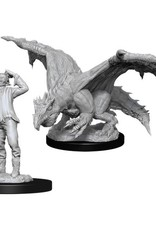 WizKids D&D Nolzur's Green Dragon Wyrmling and Afflicted Elf