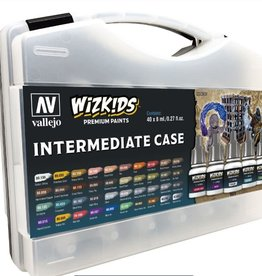VALLEJO Wizkids Premium Paints Intermediate Case