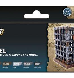 VALLEJO Wizkids Premium: Wood & Steel [Preorder]
