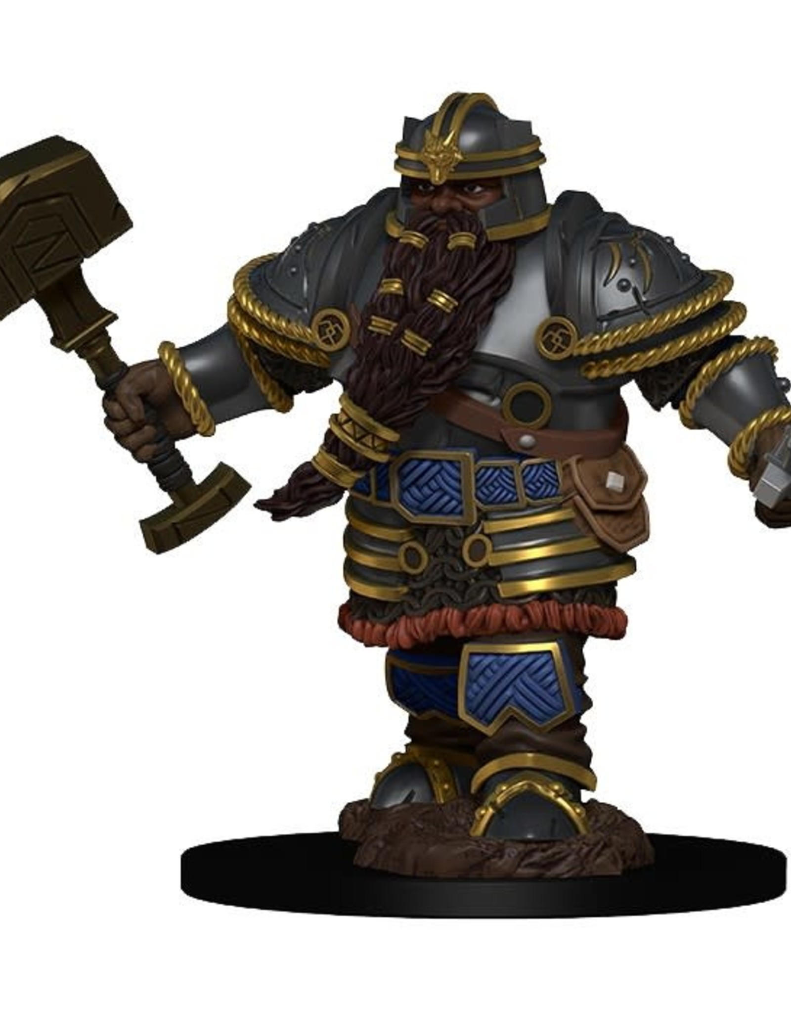WizKids D&D Icons of the Realms Premium Figures: Dwarf Male Fighter