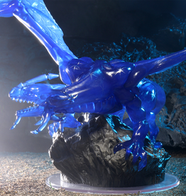 WizKids D&D Icons of the Realms Miniatures: Sapphire Dragon Premium Figure