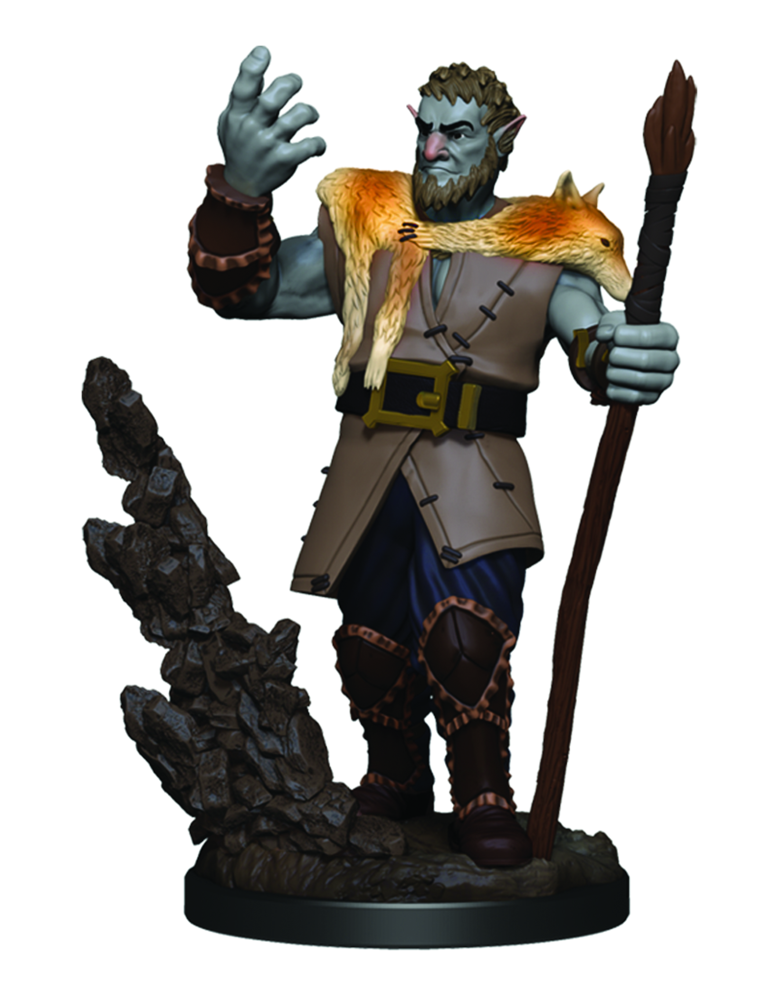 WizKids D&D Icons of the Realms Premium Figures: Male Firbolg Druid