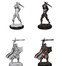 WizKids D&D Nolzur Human Paladin (He/Him/They/Them) (Preorder)