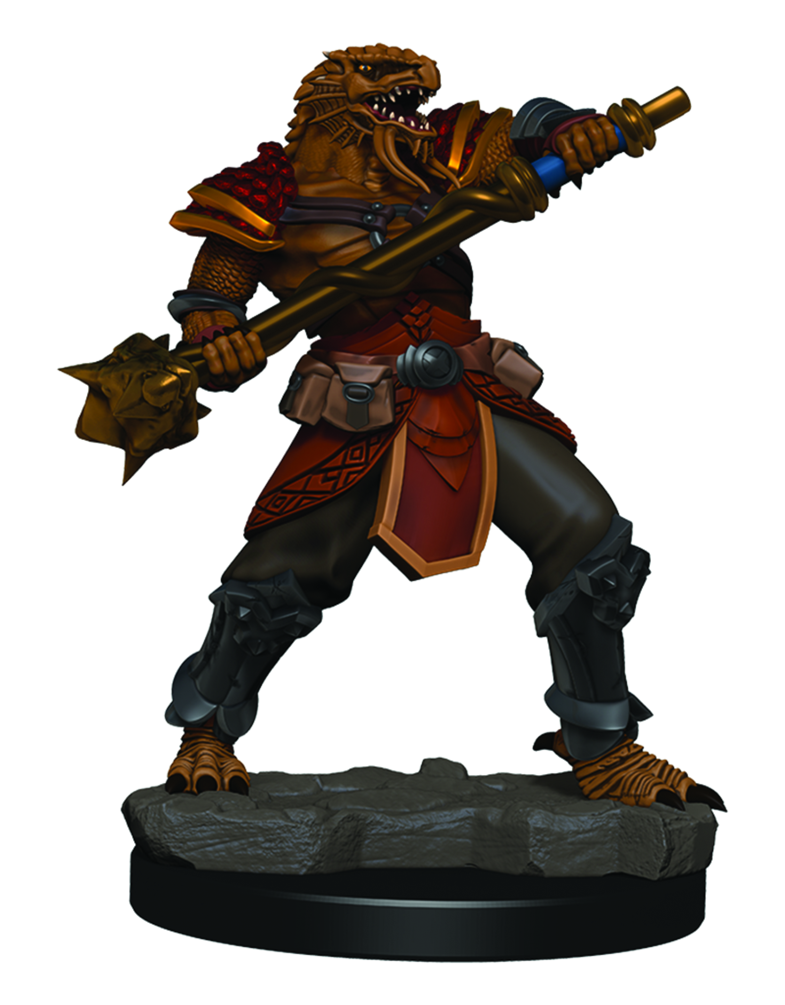 WizKids D&D Icons of the Realms Premium Figures: Male Dragonborn Fighter
