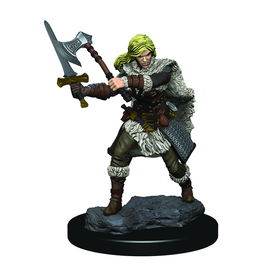 WizKids D&D Icons of the Realms Premium Figures: Human Female Barbarian - Preorder