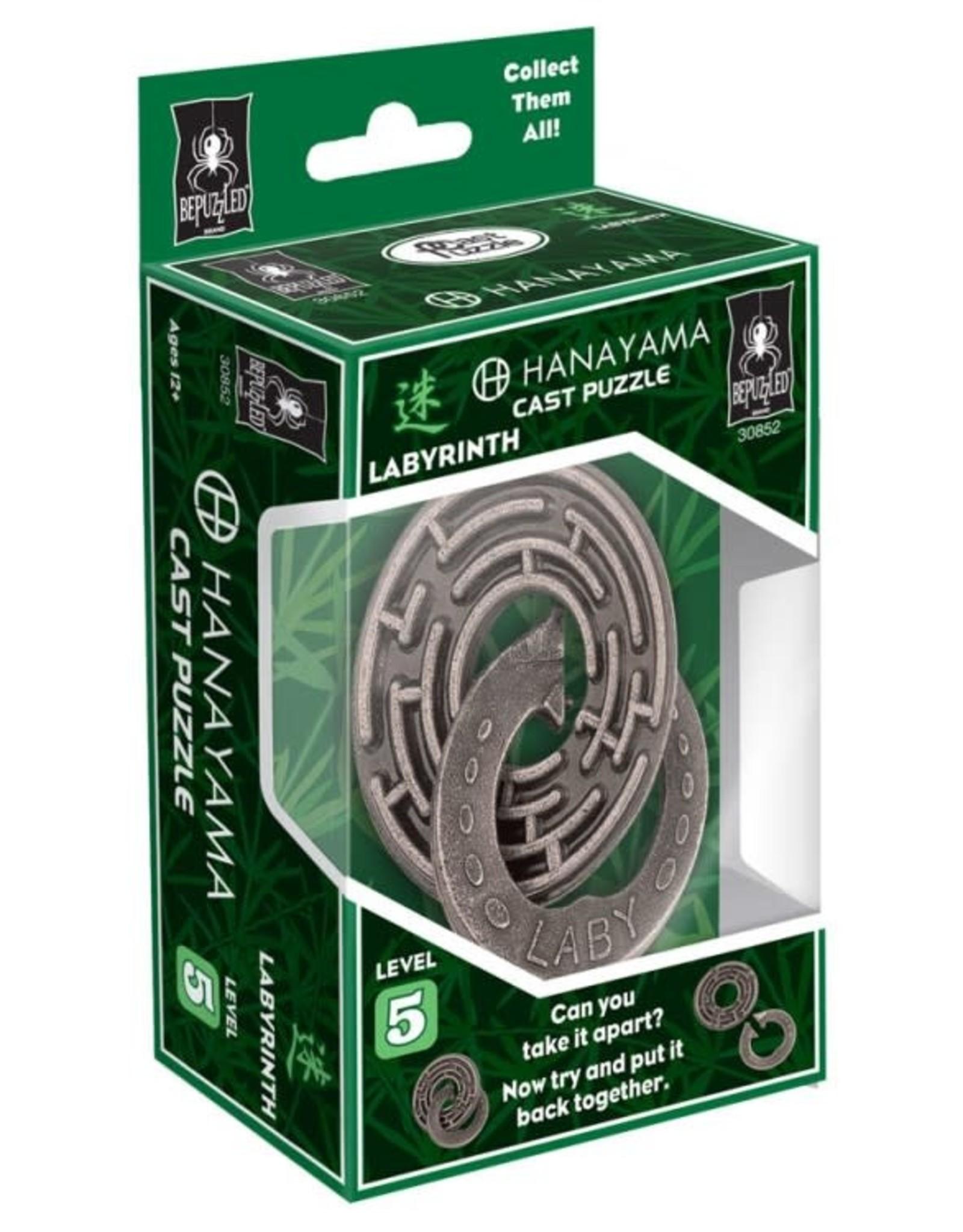 University Games Hanayama Puzzle: Labyrinth Lvl 5