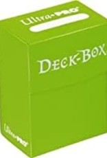 Ultra Pro Deck Box: Solid Light Green