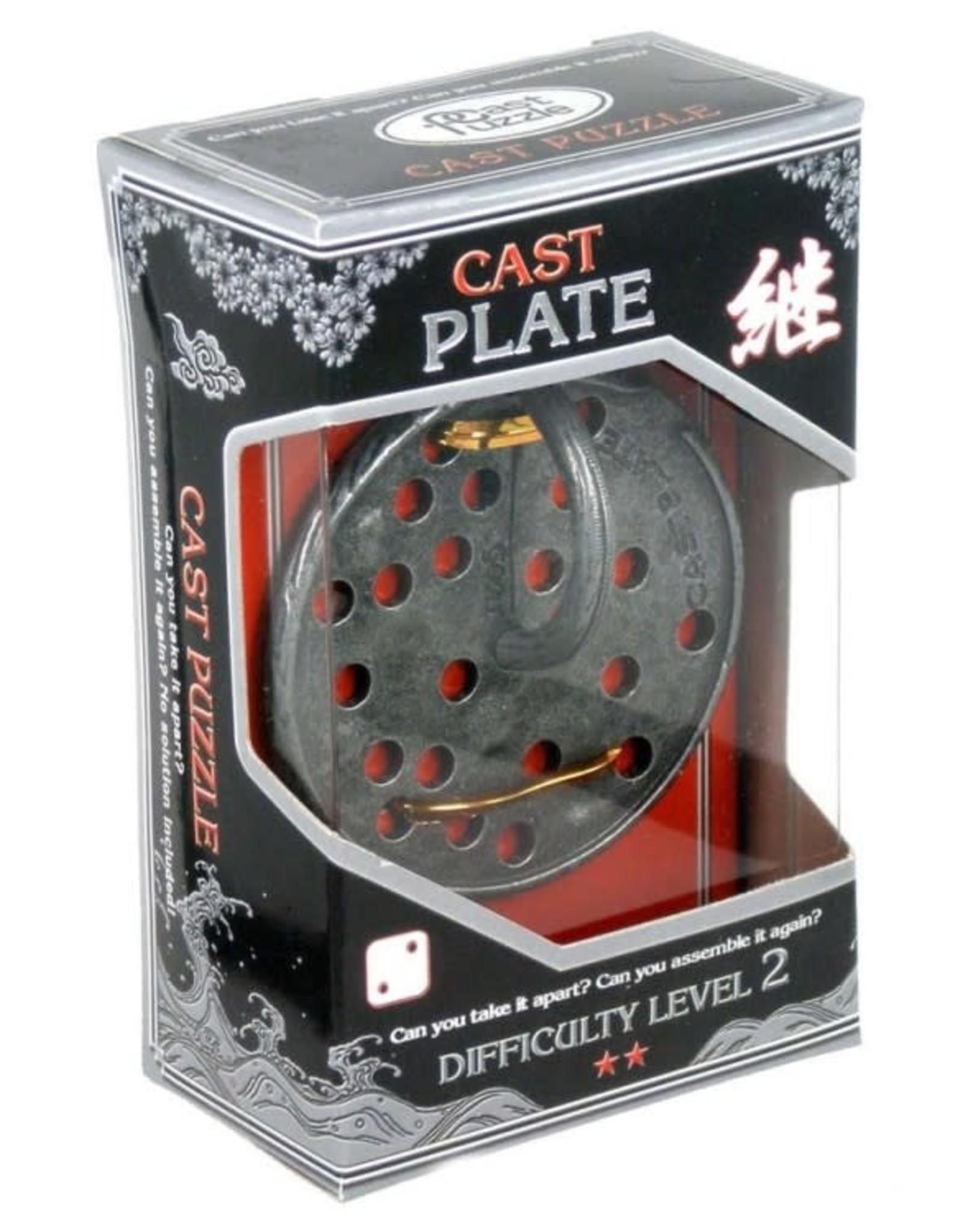 University Games Hanayama Puzzle: Plate Lvl 2