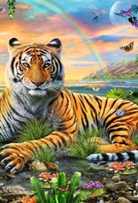Ravensburger 300pc XXL puzzle Tiger at Sunset