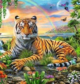 Ravensburger 300pc XXL puzzle Tiger at Sunset