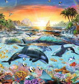 Ravensburger 200pc XXL puzzle Orca Paradise
