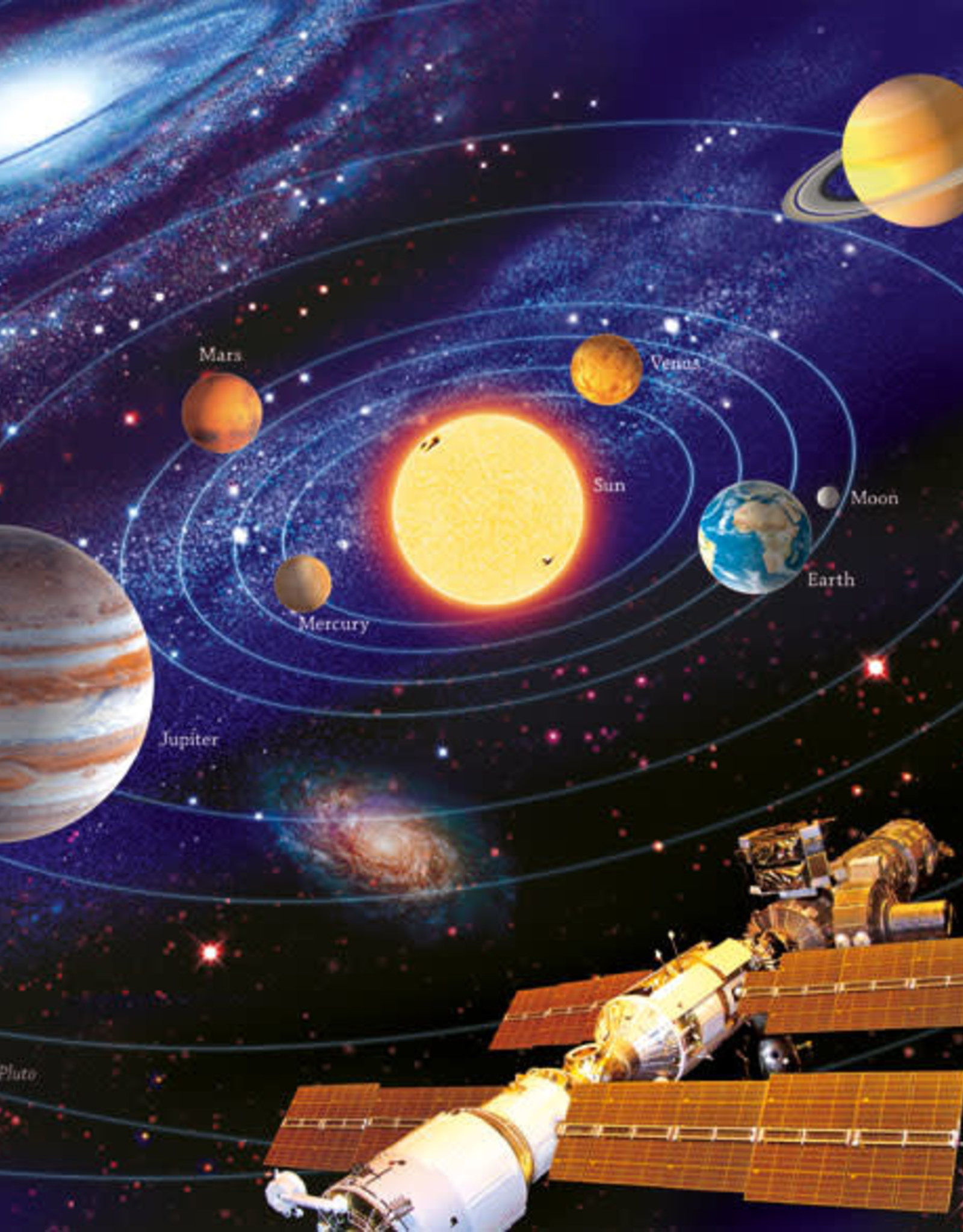 Ravensburger 200pc XXL puzzle The Solar System