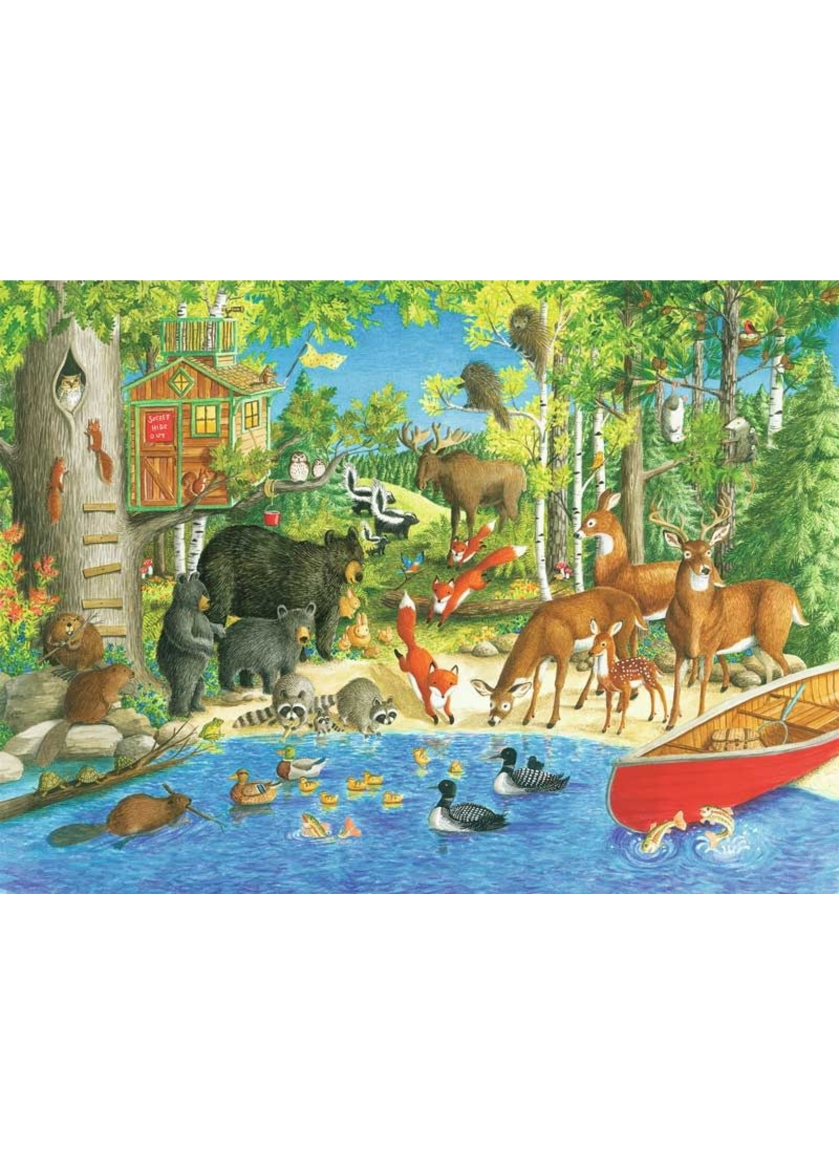 Ravensburger 200pc XXL puzzle Woodland Friends