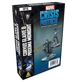 Asmodee Marvel Crisis Protocol Corvus Glaive and Proxima Mid