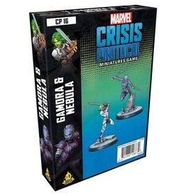 Asmodee Marvel Crisis Protocol Gamora and Nebula