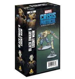 Asmodee Marvel Crisis Protocol Black Dwarf and Ebony Maw