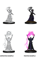 WizKids D&D Nolzur Drow Mage & Drow Priestess (W12)