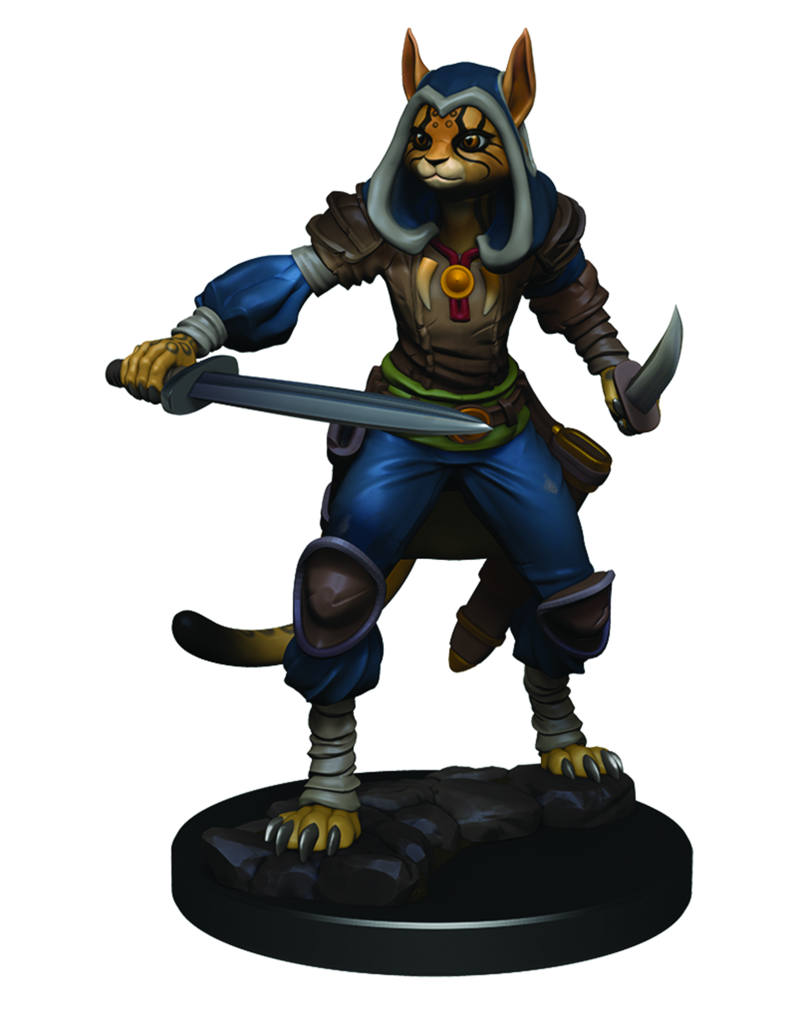 WizKids D&D Icons of the Realms Premium Figures: Female Tabaxi Rogue