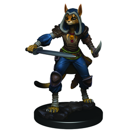 WizKids D&D Icons of the Realms Premium Figures: Female Tabaxi Rogue - Preorder