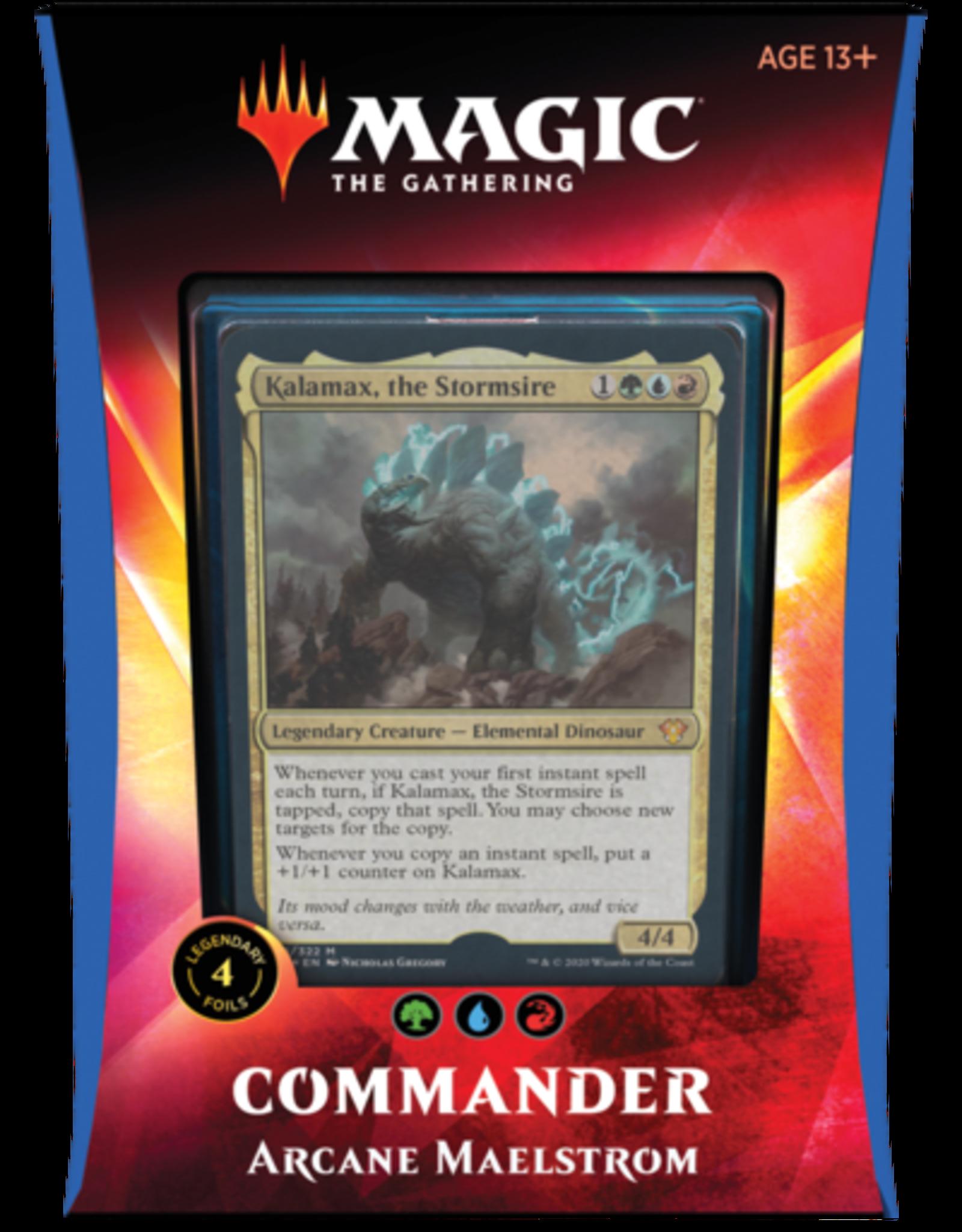 Wizards of the Coast Commander 2020 Ikoria - Arcane Maelstrom