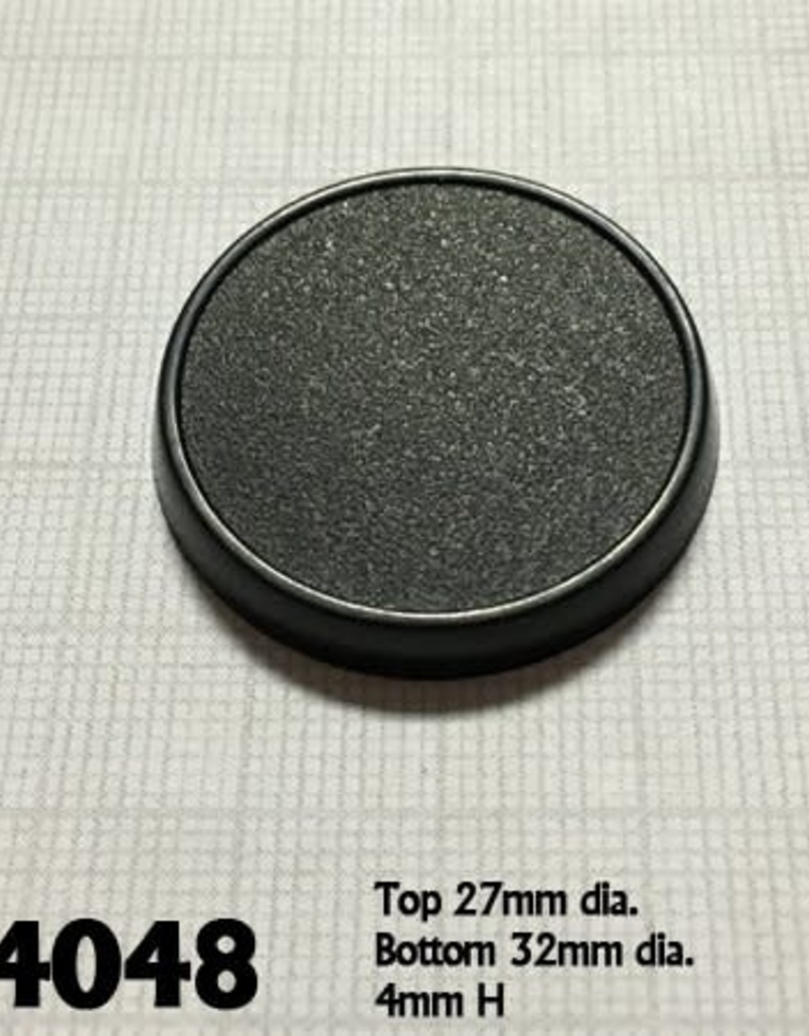 32mm Round Gaming Base