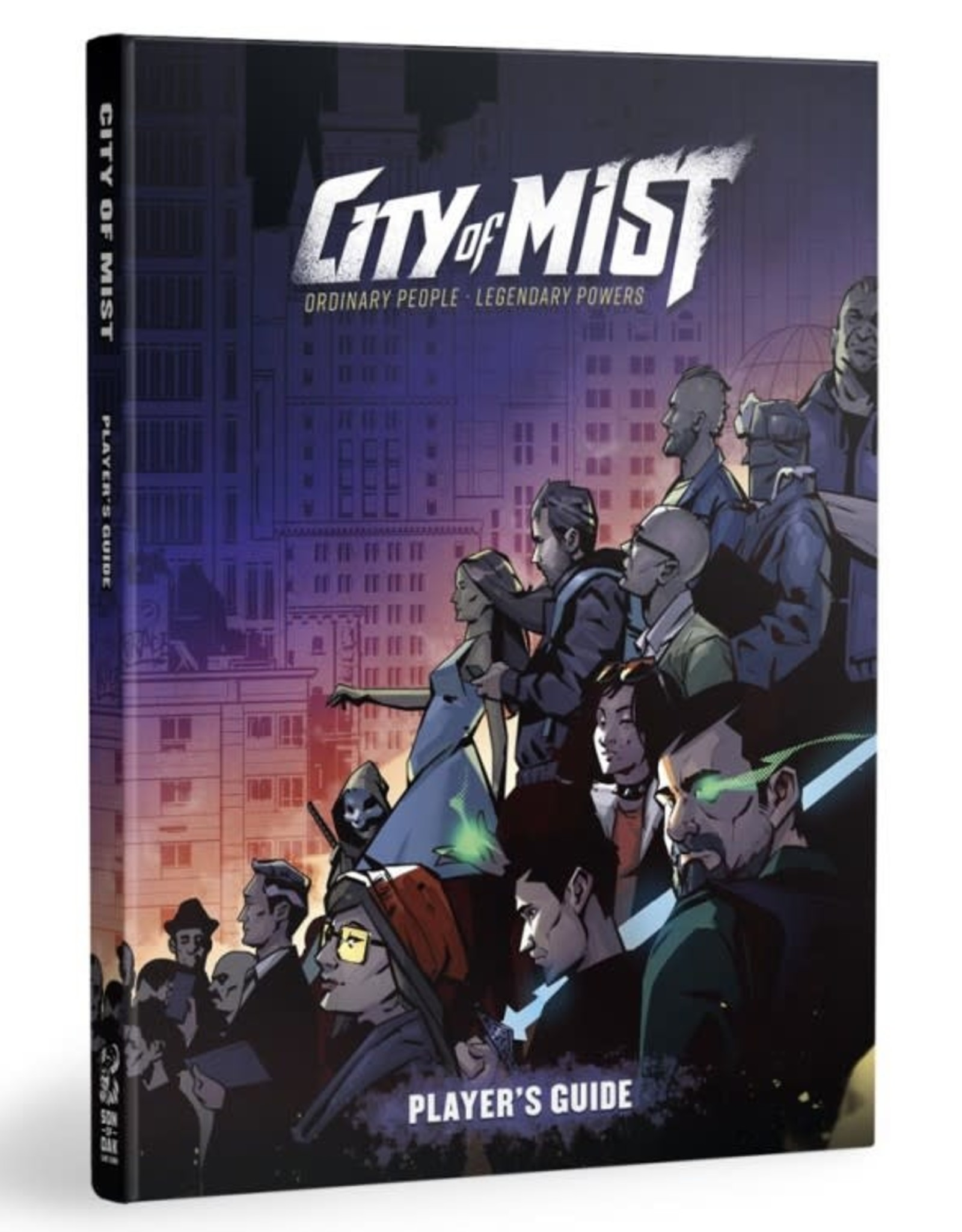 Modiphius City of Mist Player's Guide