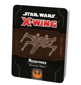 Fantasy Flight Games Star Wars X-wing 2.0 Resistance Damage Deck