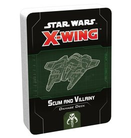 Fantasy Flight Games X-Wing 2nd Ed: Scum and Villainy Damage Deck