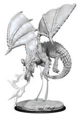 WizKids D&D Nolzur Young Blue Dragon