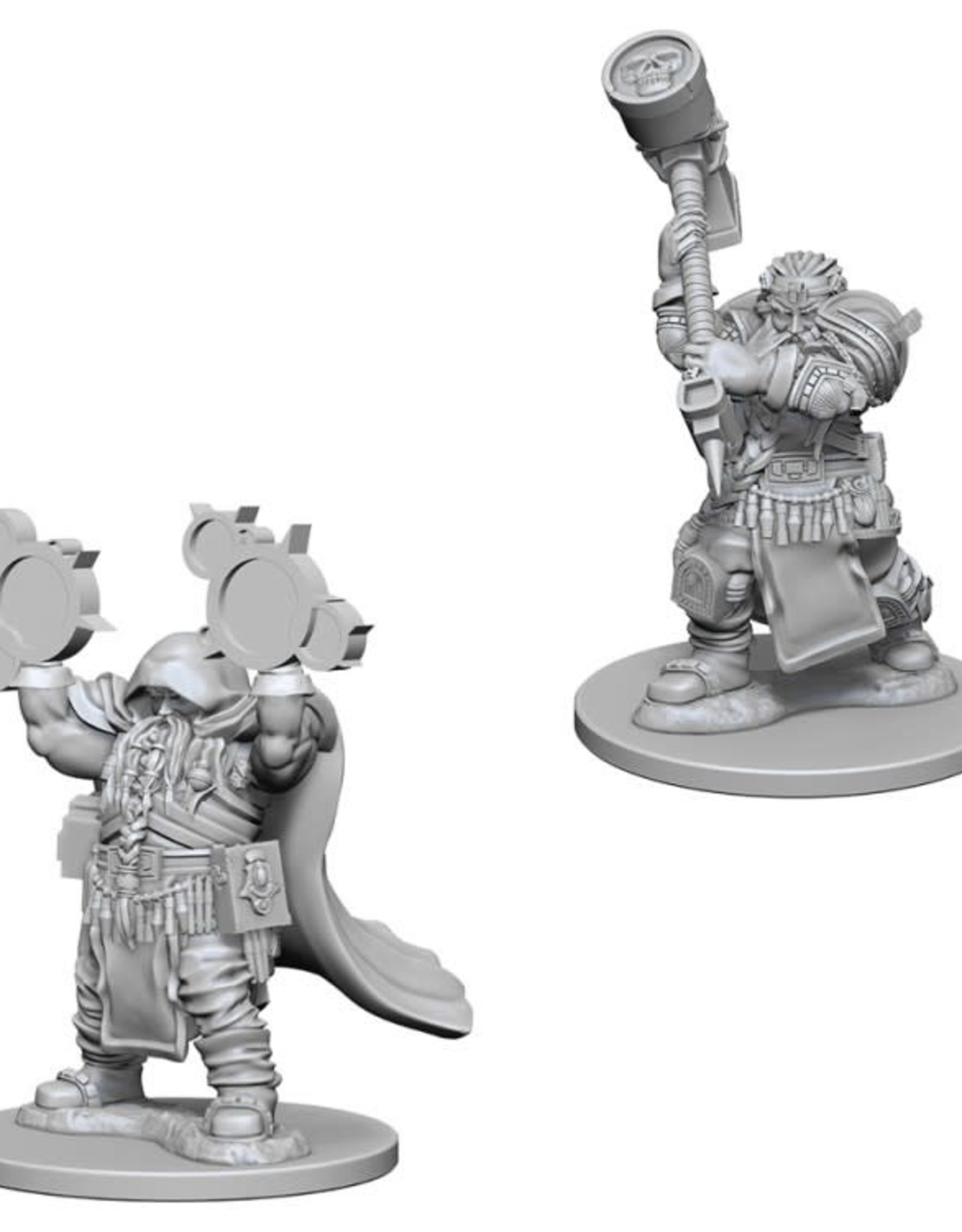 WizKids D&D Nolzur Dwarf Cleric  (He/Him/They/Them)